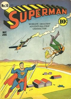 Cover for Superman (DC, 1939 series) #10