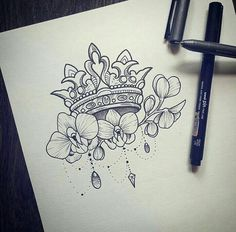 I like this but with roses