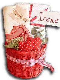 Irene es una muñeca #cestasdenacimiento estilazo.com