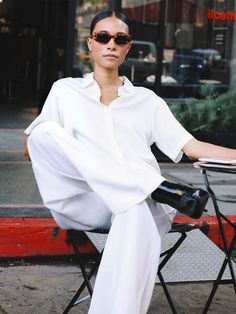 The Complete Capsule: 11 Summer Essentials to Carry You Through Till Autumn Capsule summer wardrobe classic sunglasses Capsule Wardrobe, Summer Wardrobe, Womens Fashion Online, Latest Fashion For Women, White Outfits, Summer Outfits, Trendy Outfits, Girl Outfits, Summer Wear