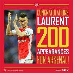 #laurent #koscielny #200 #arsenal #football #club