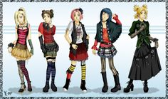 Which outfit would you pick? I like Hinata's :)) Anime - Naruto