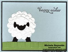 Delightful Dozen Easter Lamb by Michelerey - Cards and Paper Crafts at Splitcoaststampers