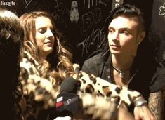 ANdy & Juliet Interview -Black Veil Brides GiF