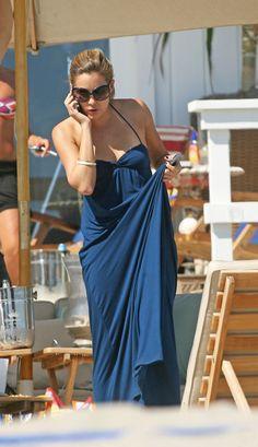 Lauren Conrad - 'The Hills' Fims on the Beach