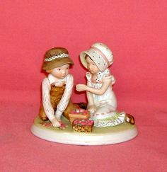 """Holly Hobbie - Precious Moments Collection- 1980-""""Sweet Joys"""""""