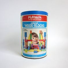 Playskool Colored Wood Blocks. Probably the most enduring favorite toy over the years.