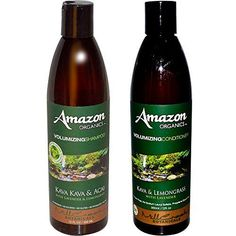 Mill Creek Botanicals Amazon Volumizing Natural 71 Organic Shampoo and Conditioner Bundle With Acai Berry Lavender Lemongrass Witch Hazel Aloe Vera Jojoba and Rosemary 12 fl oz each -- You can get additional details at the image link.