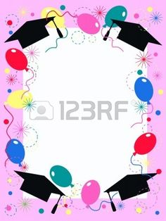 Graduation Invitation Or Celebration Card Royalty Free Cliparts, Vectors, And Stock Illustration. Image Illustration of graduation invitation or Graduation Clip Art, Graduation Images, Graduation Templates, Kindergarten Graduation, Graduation Decorations, Graduation Day, Graduation Invitations, School Frame, Borders And Frames