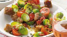 Rosenkohlsalat+Rezept+»+Knorr