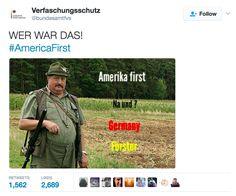 America First, Deutschland Förster