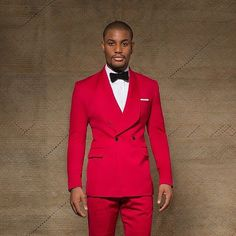 2017 Latest Coat Pant Designs Red Wedding Suits for Men Slim Fit 2 Piece  Groom Tuxedo Custom Style Suit Prom Blazer Masculino