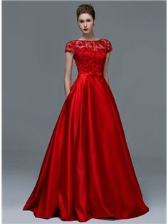 Cheap short sleeve evening dresses, Buy Quality sleeved evening dresses directly from China evening dress Suppliers: Elegant Red Lace Short Sleeves Evening Dresses 2015 Sexy A-Line Sheer Boat Neck Keyhole Long Prom Dress Women Formal Women Gowns Evening Dress 2015, Sequin Evening Dresses, Evening Dresses With Sleeves, Cheap Evening Dresses, Evening Gowns, Sequin Dress, Embellished Dress, Evening Party, Dress Red