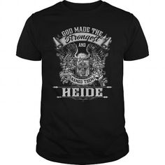 I Love HEIDE HEIDEBIRTHDAY HEIDEYEAR HEIDEHOODIE HEIDENAME HEIDEHOODIES  TSHIRT FOR YOU T shirts