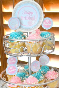 WINTER ONEDERLAND Birthday Party - Snowflake Party
