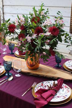 Jewel-toned Thanksgi