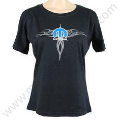 Mopar T Shirt for Ladies - Screen print $19.95