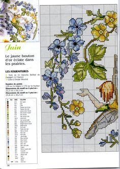 Французский календарь июнь