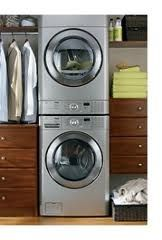 Stacking Washer & Dryer in the Master Suite