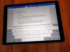 Surface Pro 4 vs iPad Pro: Office Suite Stand-off Microsoft Office, Microsoft Word, Black Friday News, Microsoft Surface Pro 4, New Tablets, Office Suite, Google Docs, Apple Ipad, Ipad Pro