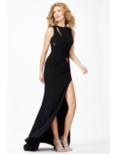 robe de bal noire longue sirène