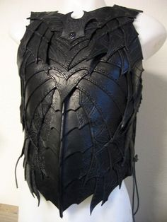 More leather armour, again quite fancy :-)