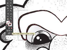 Illustrator's draw inside mode