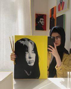 Billie Eilish, My Arts, Oil, Painting, Painting Art, Paintings, Paint, Draw