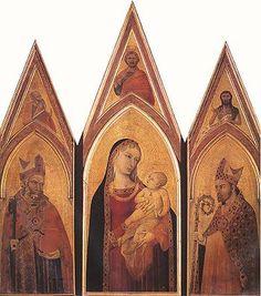Trittico di San Procolo AutoreAmbrogio Lorenzetti Data1332 Tecnicatempera e oro su tavola Dimensioni171 cm × 143 cm  UbicazioneUffizi, Firenze