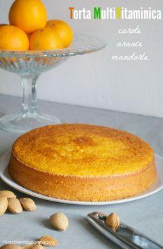Torta multivitaminica carote, arance e mandorle