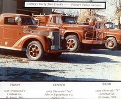 Sidney Fire Dep't 1970 Fire Trucks  http://setcomcorp.com/900intercom.html