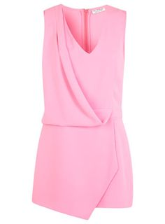 Neon Drape Playsuit - Rompers & Jumpsuits - Apparel