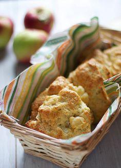 Apple Cheddar Scones by thebakerchick, via Flickr