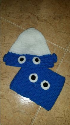 Pitufo crochet