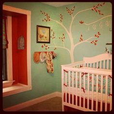 Kiss the Baby wall art. Mama Bird, Baby bird.