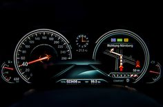 BMW 7 2016 new cluster