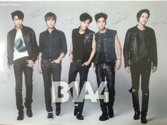K-POP B1A4 Tonymoly Unpold Official Poster Bromide + Free Shipping