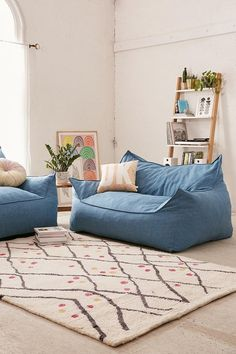 Larson Soft Loveseat at Urban Outfitters for random seating in bonus room Love Seat, Interior Design, Apartment Decor, Home, Interior, Living Room Accessories, Retro Home Decor, Home Decor, Room