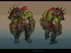 ArtStation - Characters for Thunder King patch (World of Warcraft), First Keeper