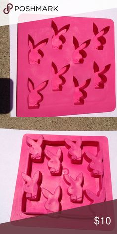 PLAYBOY Ice Cube Tray. PLAYBOY Ice Cube Tray. Used Twice for Parties. PLAYBOY Other