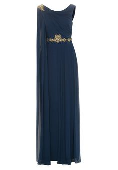 Marchesa Notte - Vestido de fiesta - azul Gown, attire,evening dress