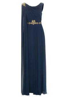 Marchesa Notte - Vestido de fiesta - azul Gown, attire,evening dress