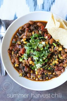 Summer Harvest Chili — The Local Vegan™ | Official Website