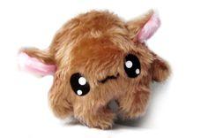 Fluse : Kawaii Plush Monster Plüsch Zottelchen Ben von Fluse-123 auf DaWanda.com