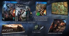 Svelati i contenuti della collector di Risen 3 Titan Lords Enhanced Edition