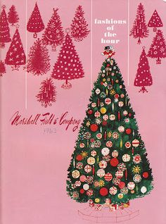 Marshall Field 1963 The Breakroom Of The Glorious Worker's Paradise Christmas Cheese, Christmas Catalogs, Retro Christmas, Christmas Holidays, Christmas Decorations, Christmas Ornaments, Holiday Decor, Christmas Boxes, Xmas