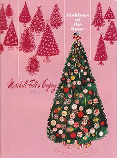 Vintage Marshall Field Christmas Catalog 1963