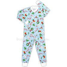 Merry Christmas to you! Santa and all of his friends adorn this wonderful pajama set from Sara's Prints. Kids Christmas Outfits, Christmas Clothes, Holiday Pajamas, Weaving Process, Merry Christmas To You, Elastic Waist Pants, Kids Pajamas, Collar And Cuff, Pajama Set