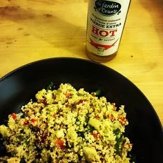 Tip   My organic Hot and Spicy oil Yummy   #cookingsecrets #cookingtips #hotandspicy #hotnspicy #hotnspicyoil #lejardindorante #organicfood #quinoacouscous #tabbouleh #taboulémaison #iqs #iquitsugarweek7#iquitsugar #iquitsugarforlife #iquitsugarchallenge