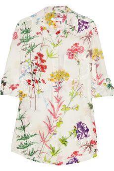 Equipment Daddy floral-print silk shirt | NET-A-PORTER